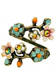 Michal Negrin Vintage Cherry Blossom Wrap Ring