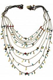 Michal Negrin Multicolor Strands Necklace