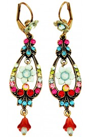 Michal Negrin Multicolor Spade Earrings