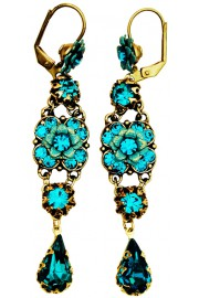 Michal Negrin Turquoise Milano Earrings