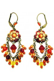 Michal Negrin Sunset Fan Earrings