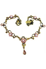 Michal Negrin Lilac Ornate Necklace