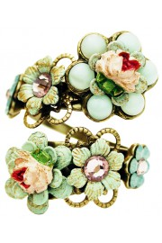 Michal Negrin Vintage Rose Spiral Ring