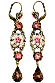 Michal Negrin Pink Milano Earrings