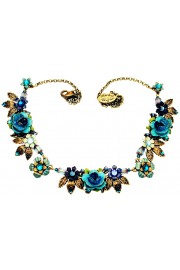 Michal Negrin Blue Turquoise Ayala Necklace