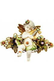 Michal Negrin Music Cherub Figurine Hair Clip
