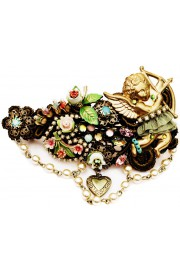 Michal Negrin Flowers Cupid Lace Hair Clip