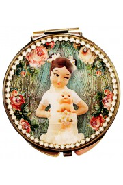 Michal Negrin Vintage Compact Mirror