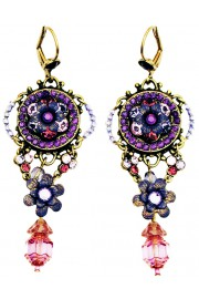 Michal Negrin Purple Sundown Earrings