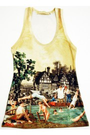 Michal Negrin Retro Resort Tank Top