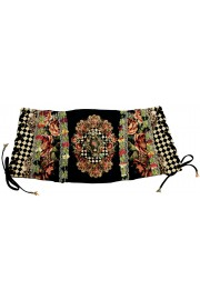 Michal Negrin Checkered Cinch Belt