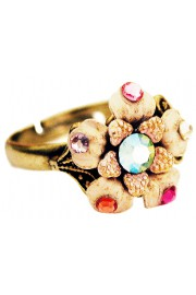 Michal Negrin Pastel Flower Ring