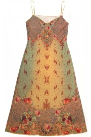Michal Negrin Baroque Roses Dress