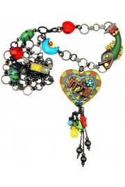 Amaro Multicolor Peace Necklace
