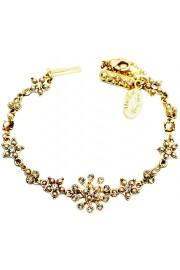 Michal Negrin Gold Pearl Stars Bracelet