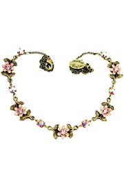 Michal Negrin Lilac Flowers Necklace