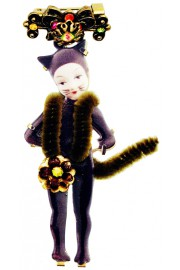 Michal Negrin Cat Woman Brooch