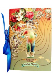 Michal Negrin Rainbow Lined A6 Paper Notebook