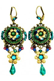 Michal Negrin Jewel Tone Sundown Earrings
