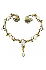Michal Negrin Pearl Ornate Necklace