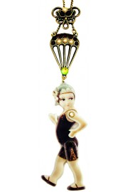 Michal Negrin Movable Parachuter Necklace