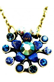 Michal Negrin Blue Starburst Necklace