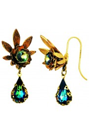 Michal Negrin Vitrail Halo Earrings
