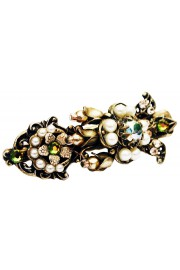Michal Negrin White Pearl Hair Clamp
