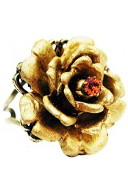 Michal Negrin Gold Large Rose Ring