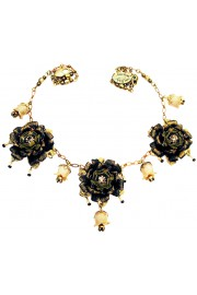 Michal Negrin Vintage Roses Necklace