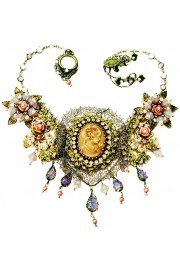 Michal Negrin Victorian Lady Lace Necklace