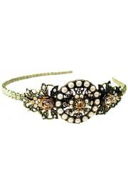 Michal Negrin Art Deco Crystals Headband