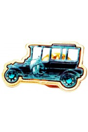 Michal Negrin Antique Car Pin