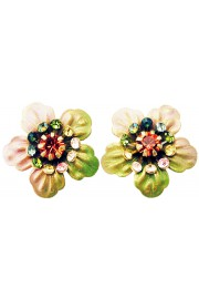Michal Negrin Tiedye Anemone Stud Earrings