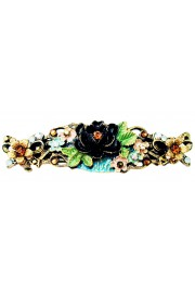 Michal Negrin Antique NY Roses Hair Clip