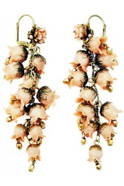 Michal Negrin Nude Hyacinth Earrings