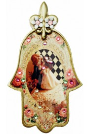 Michal Negrin Romantic Wedding Cake Hamsa