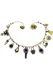Michal Negrin Purple Bazar Necklace