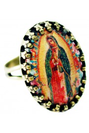 Michal Negrin Christian Iconography Small Cabochon Cameo Ring