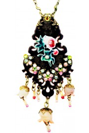 Michal Negrin Rose Shadow Necklace
