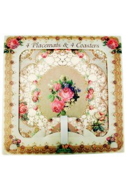 Michal Negrin Vintage Placemats and Coasters Set