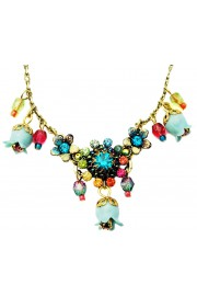 Michal Negrin Multicolor Bells Necklace