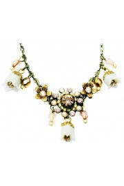 Michal Negrin Gold Tone Bells Necklace