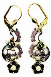 Michal Negrin Vintage Shadow Earrings