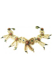 Michal Negrin Bows Lace Necklace
