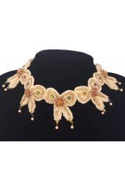 Michal Negrin Bows Lace Necklace