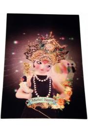 Michal Negrin Princess Lenticular 3D Postcard