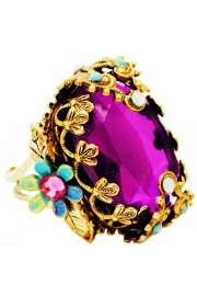 Michal Negrin Purple Noa Ring