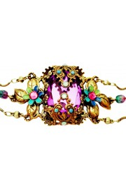 Michal Negrin Purple Noa Bracelet
