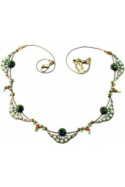 Michal Negrin Art Nouveau Necklace